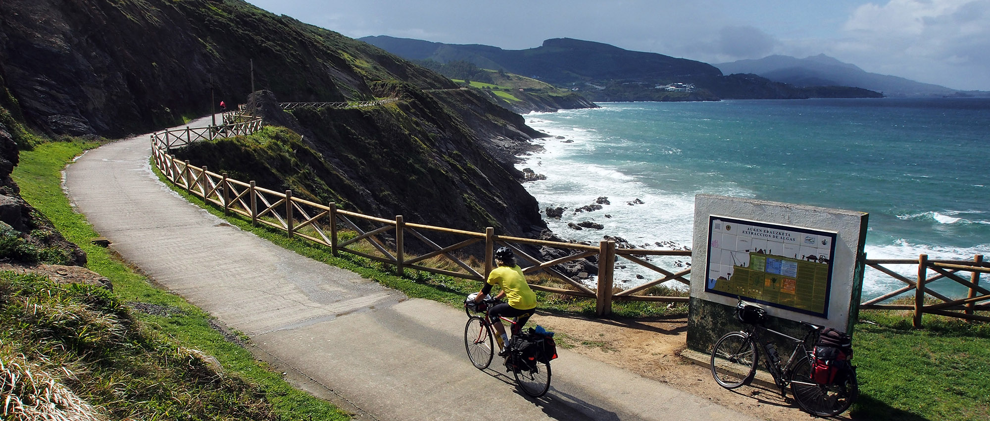 Clifftop rail trail: Via Verde Paseo de Itsaslur, a relic of Anglo-Spanish iron mining on the rugged Basque coast